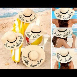 Summer Sayings Boutique Ladies Floppy Hats df4871e00e0